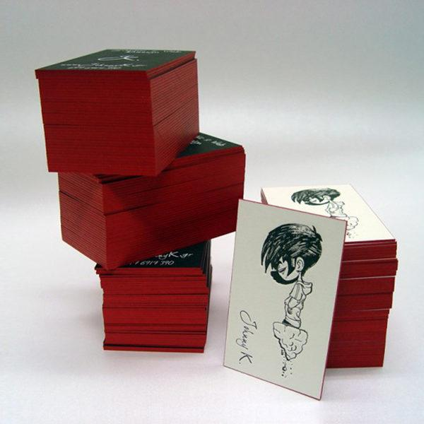 Johnny K. Studio letterpress cards