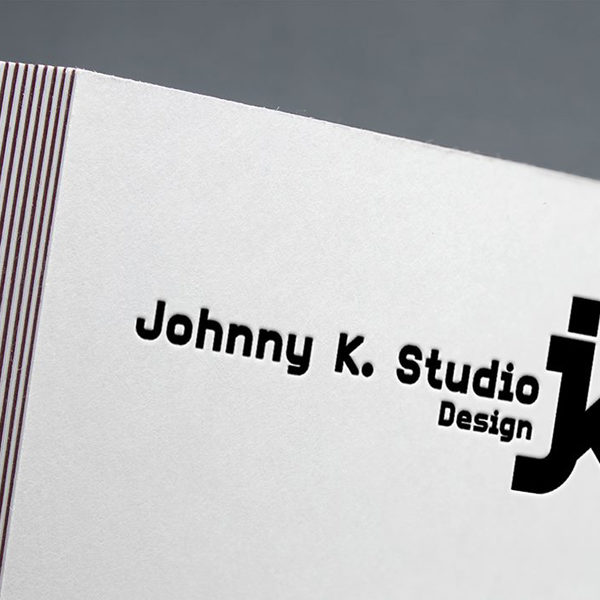 Johnny K. Studio letterpress